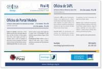 1ª Oficina do Interlegis de Portal Modelo e Sapl no Estado do Rio de Janeiro