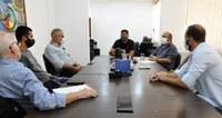 Audiência entre presidência da Câmara e representantes do Detro discute melhorias no transporte coletivo