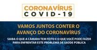 Acesso do público à sede da Câmara é restringido devido ao coronavírus