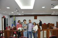 Câmara homenageia Equipe do Colégio Municipal Dr. Aurelino Gonçalves Barbosa