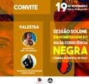Câmara promove sessão solene em homenagem ao Dia da Consciência Negra