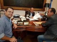 Em audiência com governador, vereador Flávio Banana solicita instalação de trailer da PM no Varjão