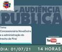 Piraí recebe audiência pública sobre nova concessão da Via Dutra