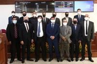 Prefeito Tutuca e vereadores tomam posse em cerimônia na Câmara de Piraí