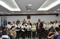 Sessão Solene em homenagem aos idosos