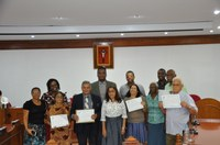 Vereador Cesinha Homenageia Membros da Igreja Assembleia de Deus Piraí - Madureira