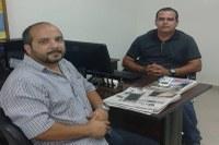 Vereador Flávio Banana reuniu com o Secretário de Transporte e Trânsito de Piraí