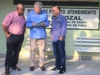Vereadores e deputado visitam Pronto-Socorro de Arrozal e verba de R$ 400 mil para reforma é confirmada
