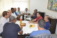 Vereadores participam de reunião com prefeito