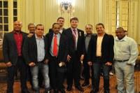 Vereadores prestigiam homenagem ao Secretário Gustavo Tutuca